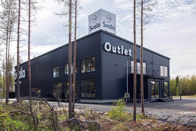 Työpaikat Kärsämäellä, kuvassa Svalan tehdas
